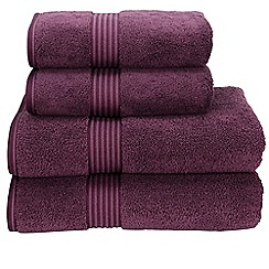 Christy - Plum 'Supreme' towels