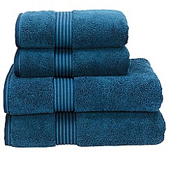 Christy - Petrol 'Supreme' towels
