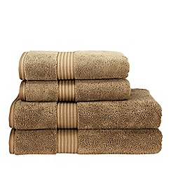 Christy - Mocha 'Supreme' towels