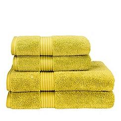 Christy - Chartreuse 'Supreme Hygro' 650gsm Supima towel