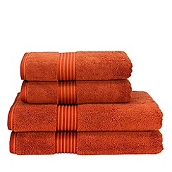 Christy - Paprika 'Supreme' towels