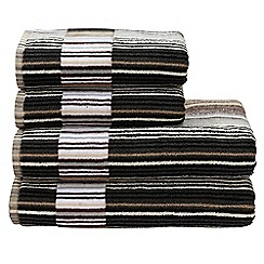 Christy - Neutral 'Capsule Stripe' towels
