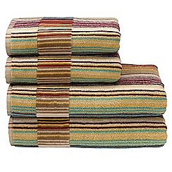 Christy - Spice 'Capsule Stripe' towels