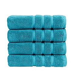 Christy - Teal 'Modena' towels