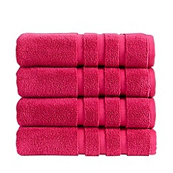 Christy - Magenta 'Modena' towels