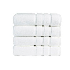 Christy - White 'Modena' towels