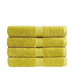 Christy - Lime green 'Verona' towels