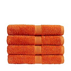 Christy - Mandarin 'Verona' towels