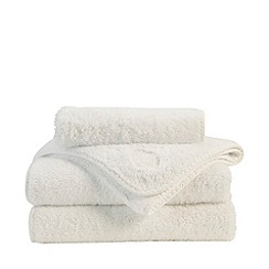 Christy - Natural 'Royal Turkish' limewash towels
