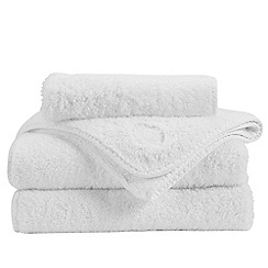 Christy - White 'Royal Turkish' towels