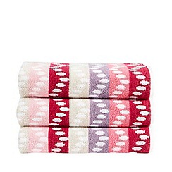 Christy - Pink 'Pavia' towels