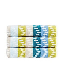 Christy - Blue 'Pavia' towels