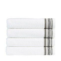 Christy - Neutral 'Modena Border' towels