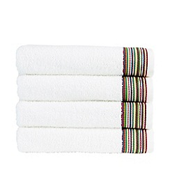 Christy - Multi 'Modena Border' towels