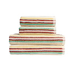 Christy - Multicoloured 'Ren' stripe towels