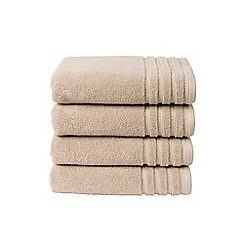 Christy - Putty 'Panama' towels