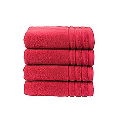 Christy - Magenta 'Panama' towels