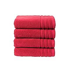 Christy - Magenta 'Panama' towels