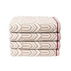 Christy - Putty 'Gatsby' towels