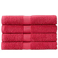 Christy - Deep Pink 'Portobello' Towel