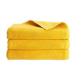 Christy - Ochre 'Porto' 600gsm cotton towel