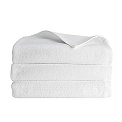Christy - White 'Porto' 600gsm Turkish cotton towel