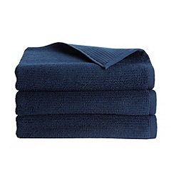 Christy - Indigo 'Porto' 600gsm Turkish cotton towel