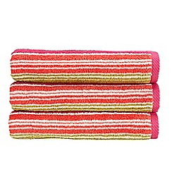 Christy - Bright 'Bamford Stripe' 500gsm cotton towel