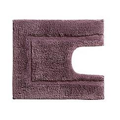 Christy - Damson 'Tufted' pedistal mat