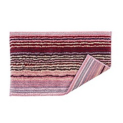 Christy - Berry 'Supreme Capsule Stripe' towel