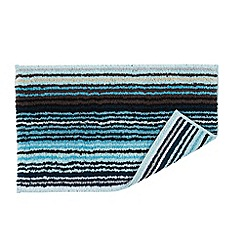 Christy - Aqua 'Supreme Capsule Stripe' towel