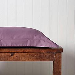 Christy - Damson 'Satin Plain Dye' flat sheet