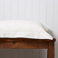 Christy - Cream '200 Plain Dye' fitted sheet