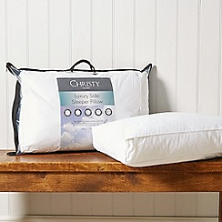 Christy - 'Side Sleeper' 100% cotton 650gsm pillow
