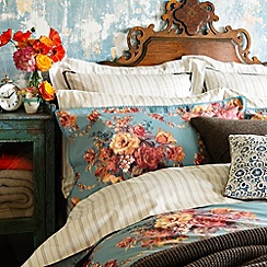 Christy - Teal 'Romany' bed linen