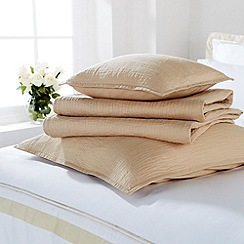 Christy - Camel 'Vibe' Bed linen