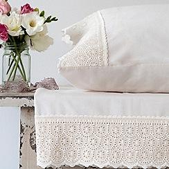 Christy - Cream 'Chloe' bed linen