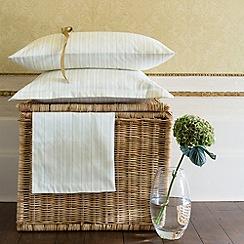 Christy - Cream 'Sussex Stripe' bed linen