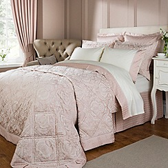Christy - Rose pink 'Limoges' bed linen