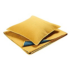 Christy - Saffron 'Loops' pillow sham