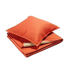 Christy - Cinnamon 'Loops' Queen throw