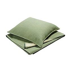 Christy - Loden 'Loops' pillow sham
