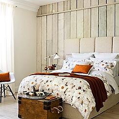 Christy - Mist 'Snowflower' bed linen