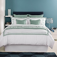 Christy - Seafoam 'Coniston' oxford pillow case pair