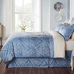 Christy - Smokey Blue 'Byron' bed linen