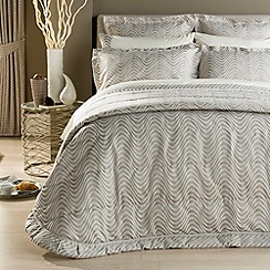 Christy - Oyster 'Milton' bed linen