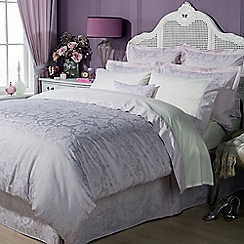 Christy - Pink 'Figaro' Bed linen