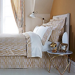Christy - Gold 'Larkin' Bed linen