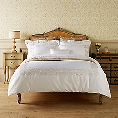 Christy - White 'Sloane' duvet cover