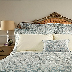 Christy - Seafoam 'Camelia' duvet cover